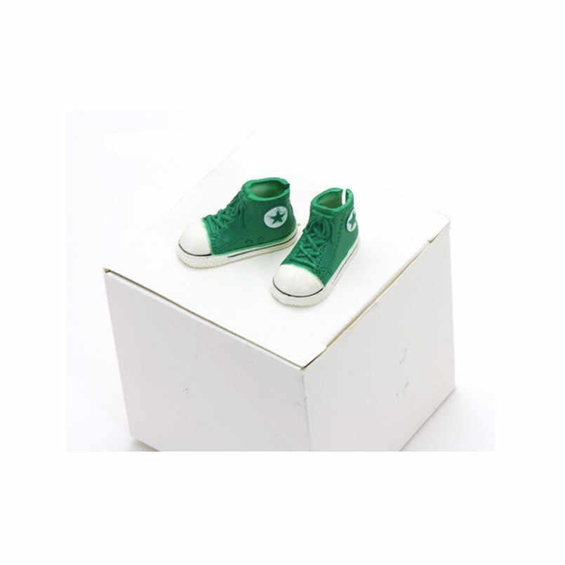 Тильда 3,5 см пластиковая кукольная обувь для кукол Blythe BJD, аксессуары для кукол с шариковыми шарнирами, милая спортивная обувь, игрушки BJD, кроссовки для игрушек Blyth