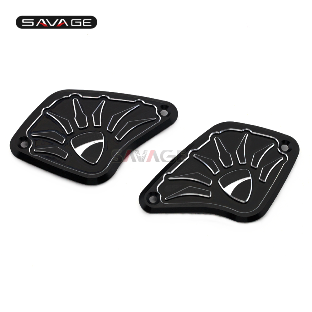 Front Brake Clutch Reservoir Cover For DUCATI Diavel / XDiavel 2011-2018 12 13 14 15 16 17 Motorcycle Accessories Oil Fluid Cap for aprilia rsv 1000 mille r 2004 2008 front brake clutch fluid reservoir cover cap motorcycle accessories cnc aluminum