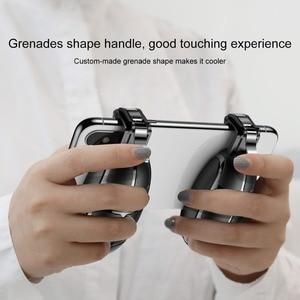 Image 5 - Baseus Pubg בקר נייד הדק עבור iPhone XR L1 R1 Shooter בקר אש כפתור Gameped ג ויסטיק עבור אנדרואיד טלפון