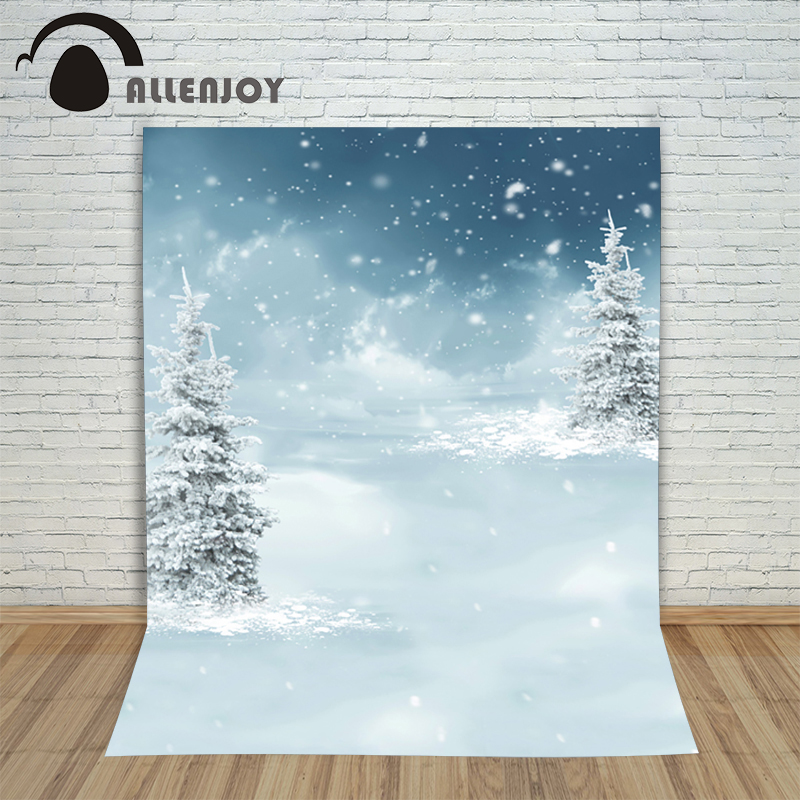New Christmas fir-tree backgrounds photo winter background snow snowflakes in winter kids photocall 10x10ft photography backdrop футболка print bar lucifer