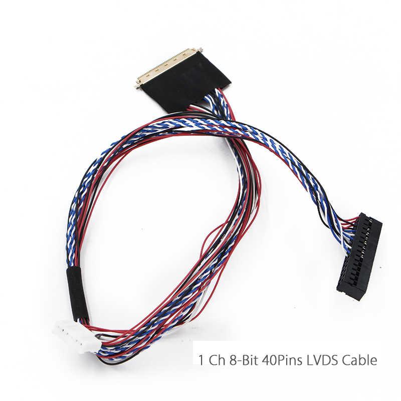 LCD denetleyici kurulu HDMI DVI VGA ses PC modülü kiti 15.6 inç ekran için B156XW02 1366X768 1ch 6/8-bit 40pins lcd paneli