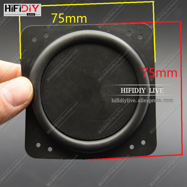 Hi Fi Diy Live Audio 75x75mm New 3 5 Inch B Speaker Plate