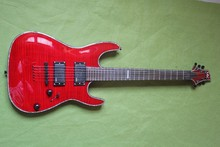 Free Shipping Brand Classic Guitar Red Penetrating Body Design ESP LTD H-351NT 24 Fret Electric Guitar Made in the Korea