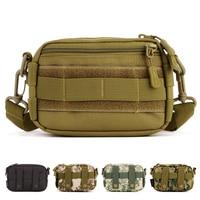 Fashion Outdoor Sport Bag Mini Messenger Bag Nylon Waist Bag Advanced Defense Ultra Light Range Tactics