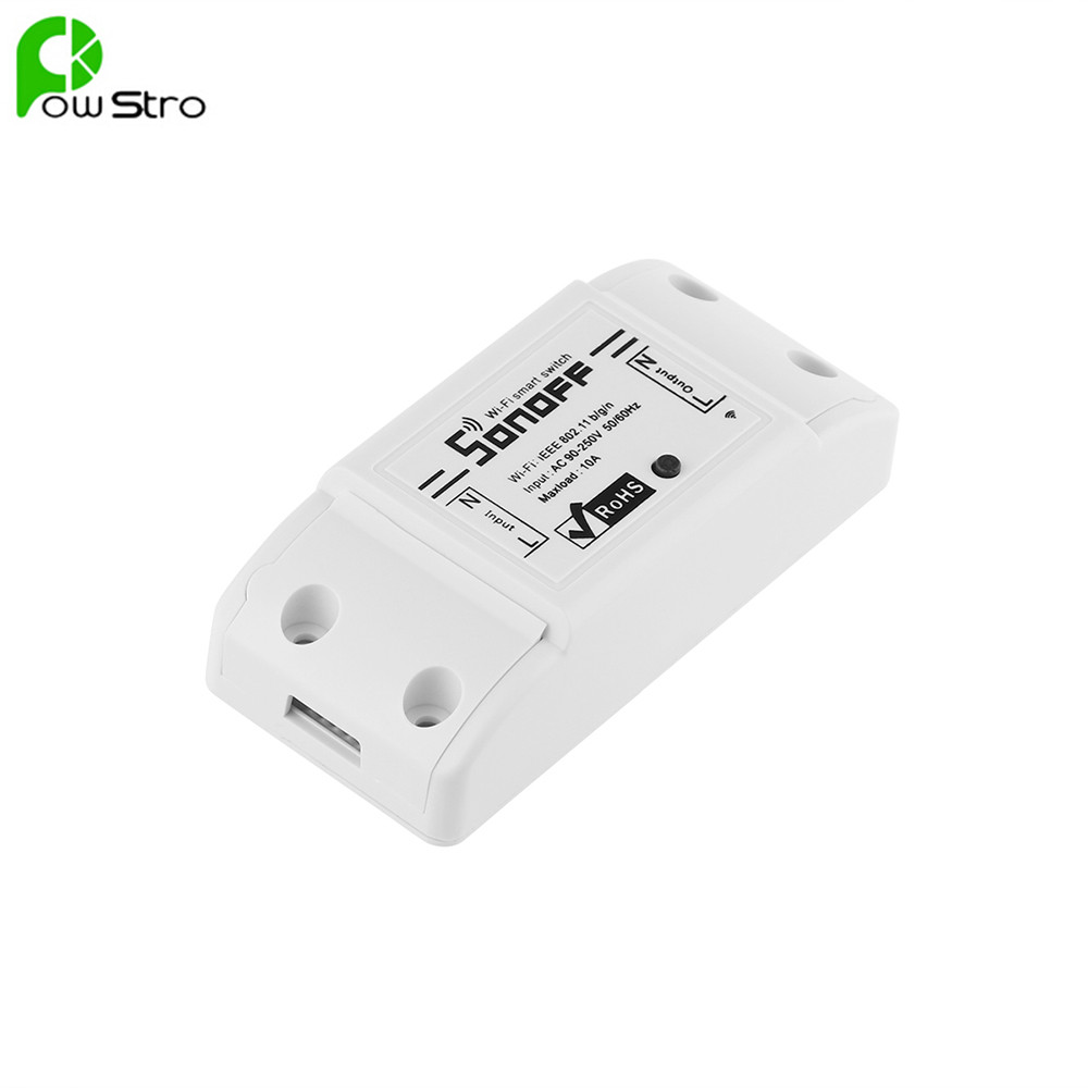 New Sonoff Smart Remote Control Wireless Switch Module Modified Low-cost Update
