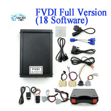 2016 New Arrival Lowest price FVDI Full Version Including 18 Software FVDI ABRITES Commander FVDI Diagnostic