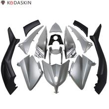 KODASKIN Tmax Grey Color 3D ABS Plastic Injection Tmax530 Fairing Kit Bodywork Bolts for Yamaha 2012 2013 2014