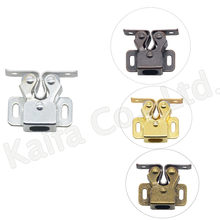 1PCS Door Stop Closer Stoppers Damper Buffer Magnet Cabinet Catches With Screws For Wardrobe Hardware Furniture Fittings(China)