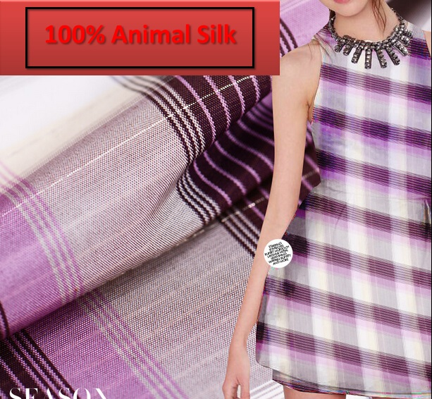 100% pure mulberry satin Soft The import of gold inlaid silk lattice Skirt Scarf Scarves dressmaking materials a yards H152- the pure abscess
