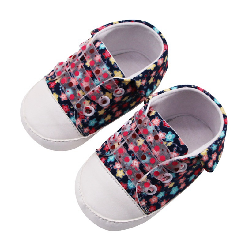 Toddler Baby Kids Girl Floral Soft Sole Sandals Anti-slip Casual Shoes Sneakers