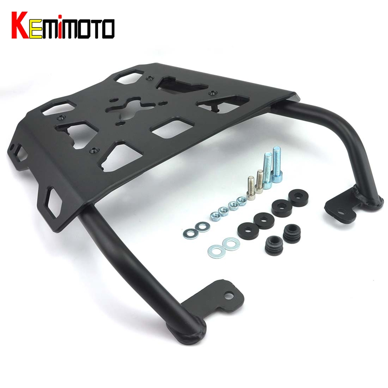 KEMiMOTO MT 09 MT09 Tracer FJ09 2016 Motorcycle Accessories Rear Carrier Luggage Rack For YAMAHA FJ-09 MT-09 Tracer 2015 2016 for yamaha fj 09 mt 09 tracer 2015 2016 motorcycle cnc aluminum rear carrier luggage rack