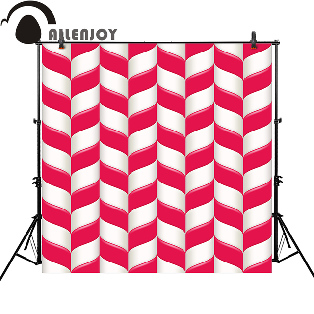 Allenjoy Photo Backdrops Pink Candy Girl Birthday Party Baby Shower