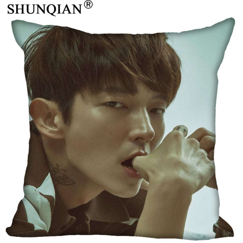 New Arrival LEE JOON GI Pillowcases zipper Custom Pillow Case More Size Custom your imag ...