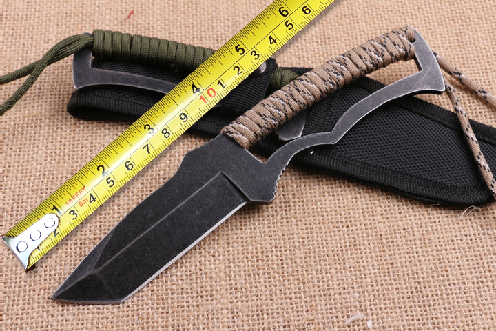 Utility Camping font b Tactical b font font b Knife b font 5CR15MOV Blade Survival font