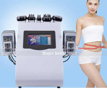 2019 New style 6 In 1 40K Ultrasonic Cavitation Vacuum Radio Frequency Laser 8 Pads lipo Laser Slimming Machine for home use - DISCOUNT ITEM  0% OFF All Category