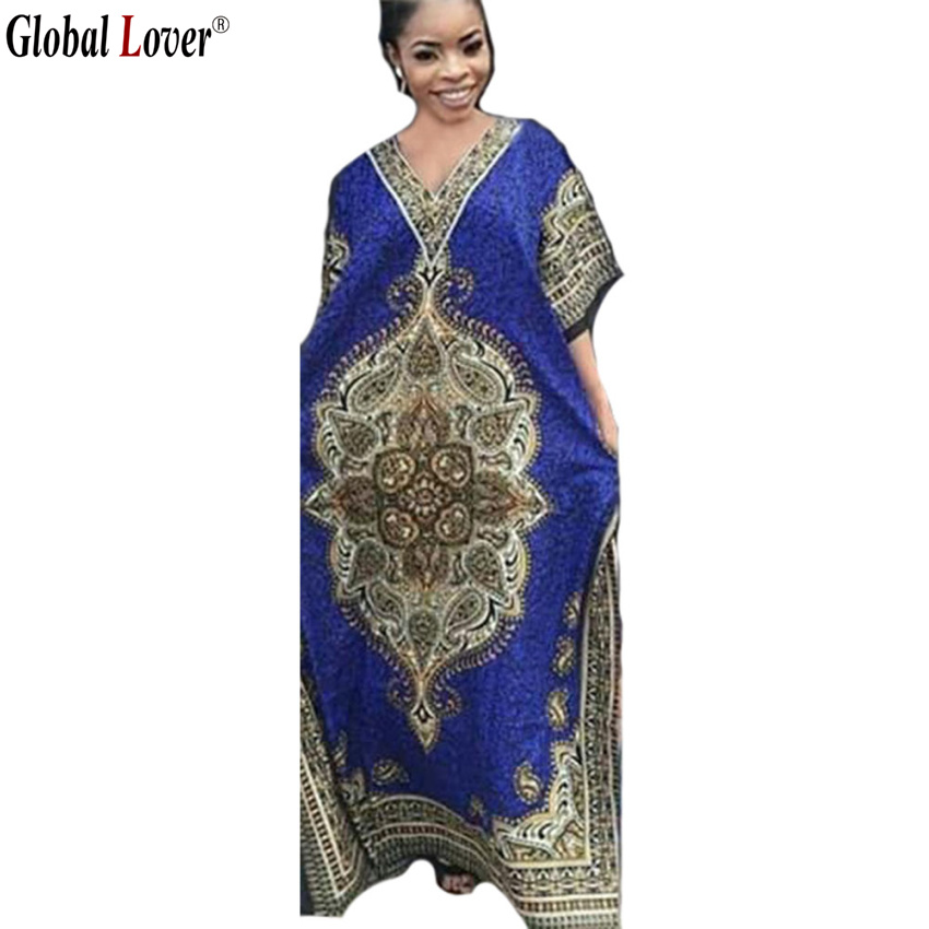 New Fashion Design Traditional African Print Dresses For Women Plus