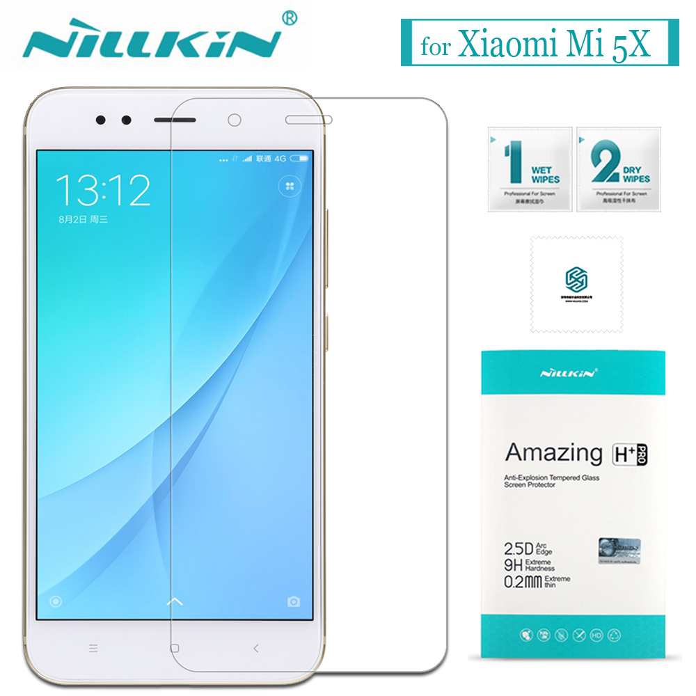 Nilkin for Xiaomi Mi 5X A1 Tempered Glass Screen Protector Nillkin 9H Amazing H / H+Pro Glass Film for Xiaomi Mi 5X MiA1 MI5X