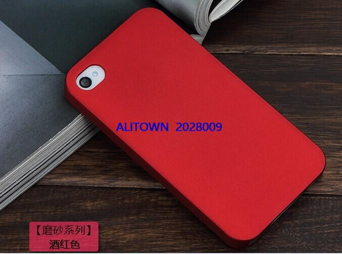DHL Fedex 200pcs lot Matte Frosted hard plastic Case Rubber case Rubber Hard back Case Cover
