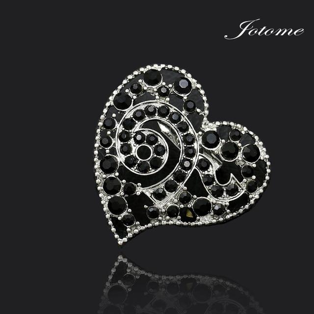 100pcs Factory Direct Sale New Design Black Crystal Rhinestone Thailand  King 9 Heart Shape Souvenir a20c5e2a4d17