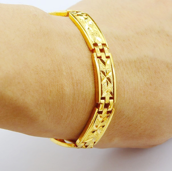 line Shop men jewelry FREE SHIPPING wholesale gold color 12mm