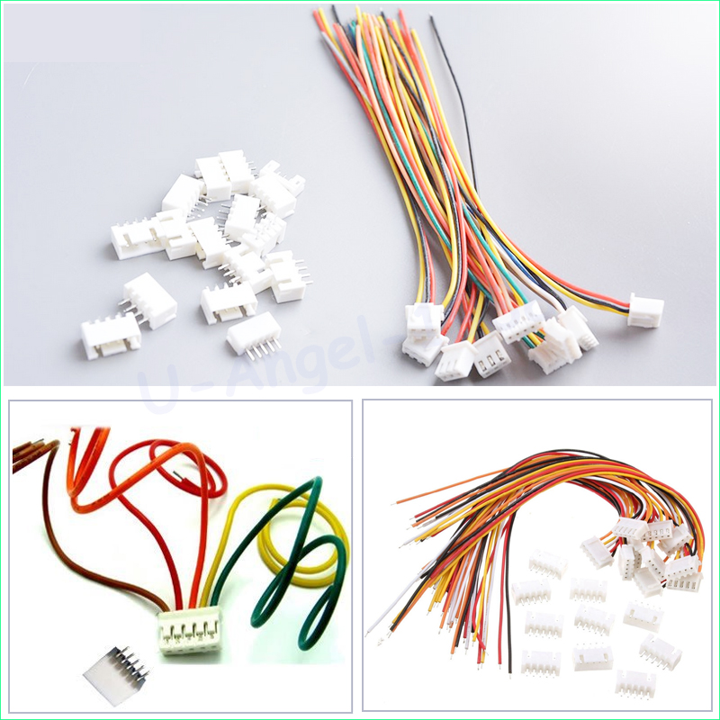10 pair 4S1P cable male and female plug wholesale RC lipo battery balance cable with connector plug 4S battery 5pcs ab clip ab battery balance plug for 2s 3s 4s 5s 6s lipo battery balance plug connector protector