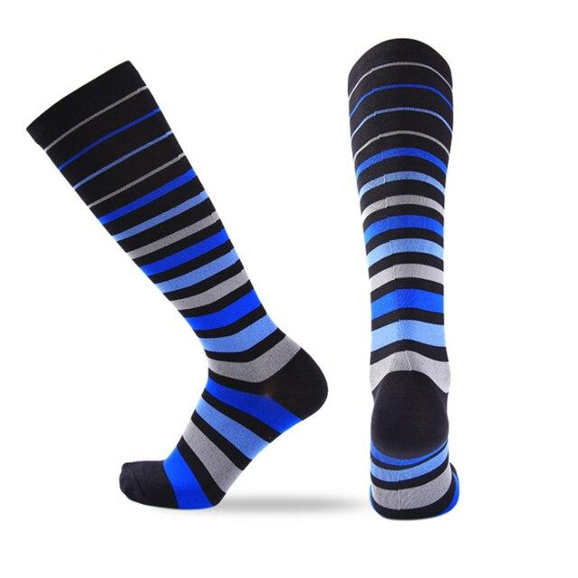 fc03624a08 NEW Style Men Compression Socks Breathable Travel Activities Fit for Nurses  Shin Splints Flight Travel Leg Support Sock 2P