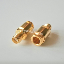 1Pcs SMA female jack clamp For RG58 RG142 LMR195 RG400 Cable RF connector