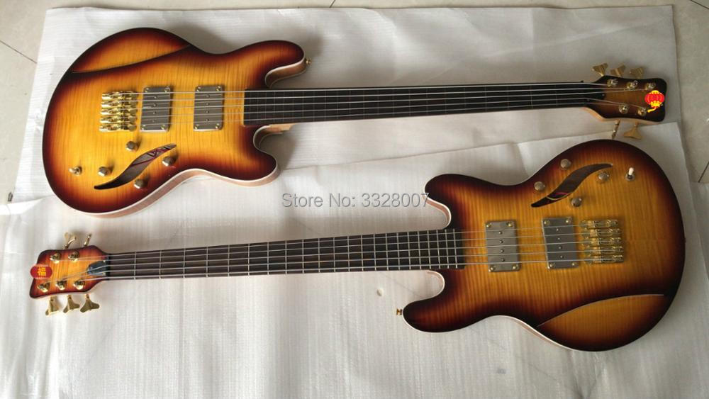 wholesale price 5 strings bass guitar fretted fretless are all available lee sklar signature. Black Bedroom Furniture Sets. Home Design Ideas