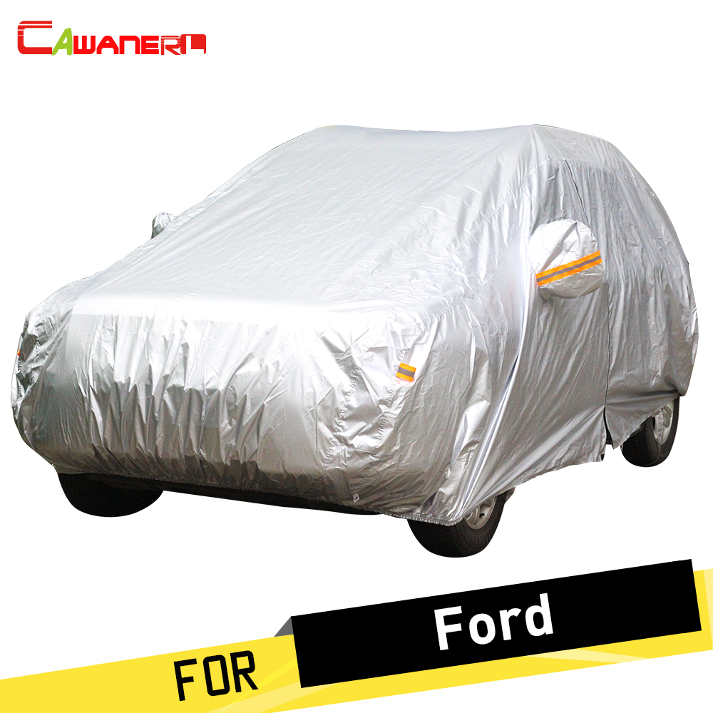 Cawanerl Full Car Cover Sun Anti UV Snow Rain Protector Cover For Ford Tourneo Victoria Windstar