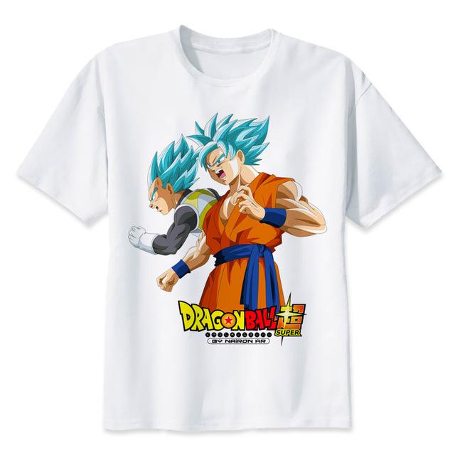 Camiseta estampada Dragon Ball