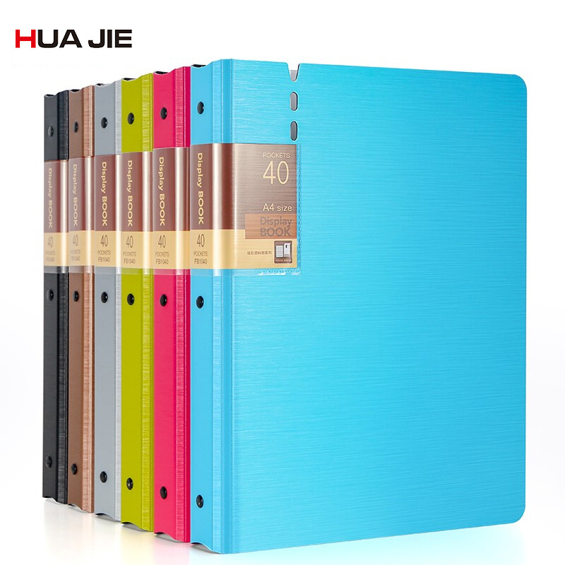 Business Document Bag Transparent Display Book File Folder  A4 Paper Storage Bag Filing Products School Office Supplies FB1020