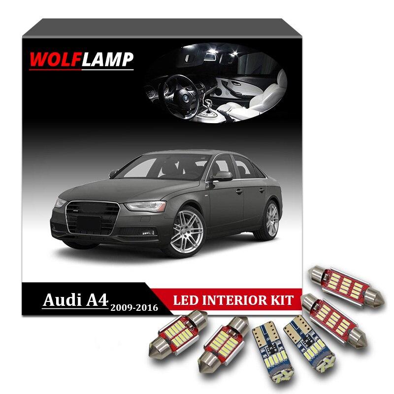 Audi A4 B8 501 W5W Blue Interior Courtesy Bulb LED High Power Light Upgrade