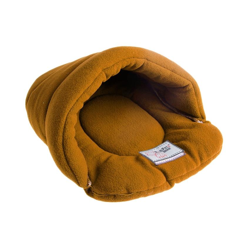 Pet Cat House Soft Warm Winter Dog Cat Bed Flip Flop Cave Dog House Cute Kennel Nest Dog Fleece Cat Bed Yx# #2