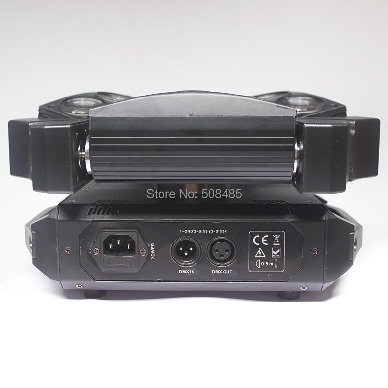 NYHET 9x12w RGBW 4in1 Spindel LED-stråle rörlig huvudljus Färgglad - Kommersiell belysning - Foto 3