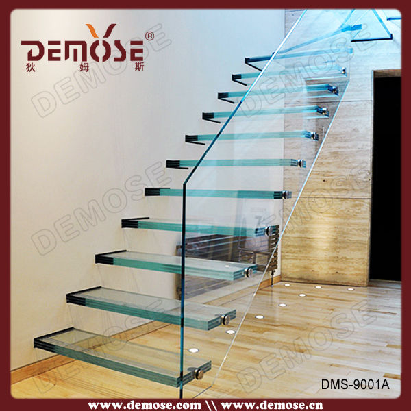Floating Glass Stairs Price For Usa Stair Banister Stairstair | Glass Banisters For Stairs Price | Floating Stairs | Oak Staircase | Oak Handrail | Wood | Curved Glass