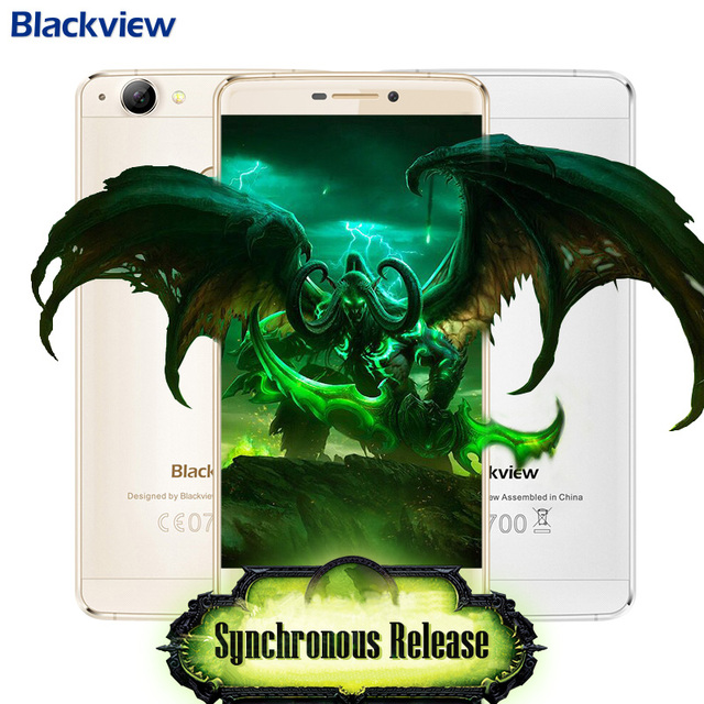 "Blackview R7 Mobile Phone 4G FDD/TDD LTE 5.5"" 1920x1080 IPS MTK6755 Octa core Android 6.0 4GB RAM 32GB ROM 3000mAh 13MP"