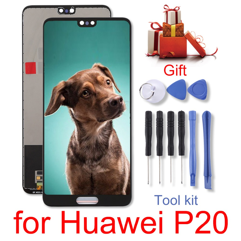 H  New for Huawei P20 LCD Screen and Digitizer Full Assembly  Replacement repair partsH  New for Huawei P20 LCD Screen and Digitizer Full Assembly  Replacement repair parts