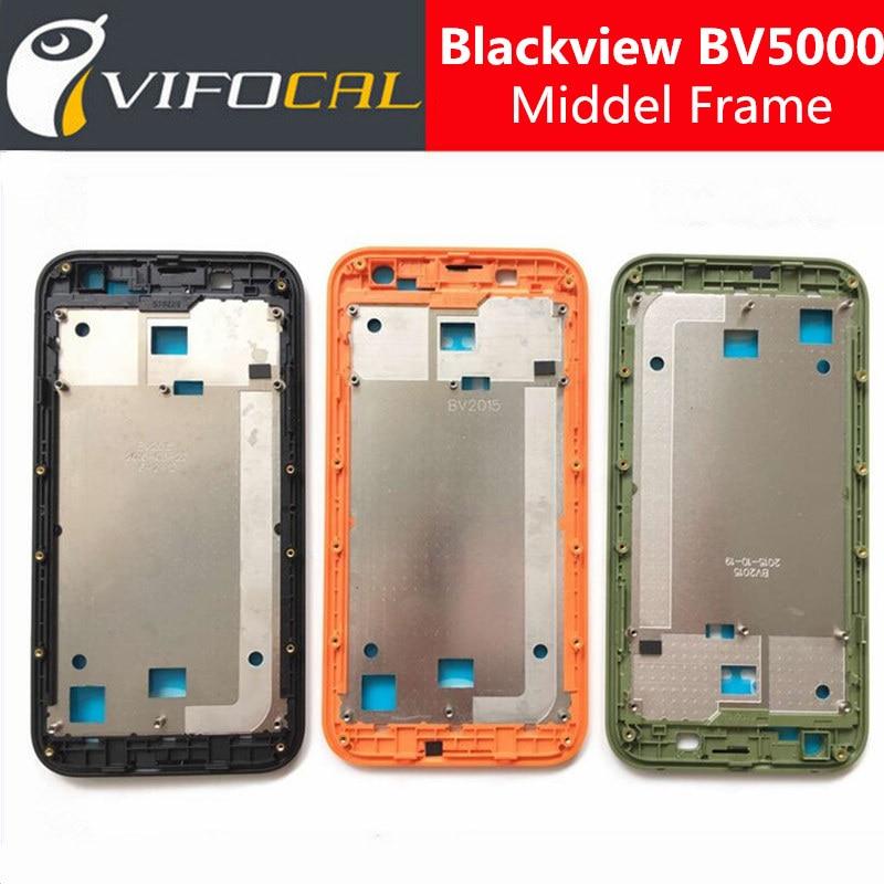 imágenes para Blackview BV5000 Marco Marco de la Pantalla LCD de Alta Calidad Accesorio de Reemplazo Para Blackview BV5000 Teléfono Móvil