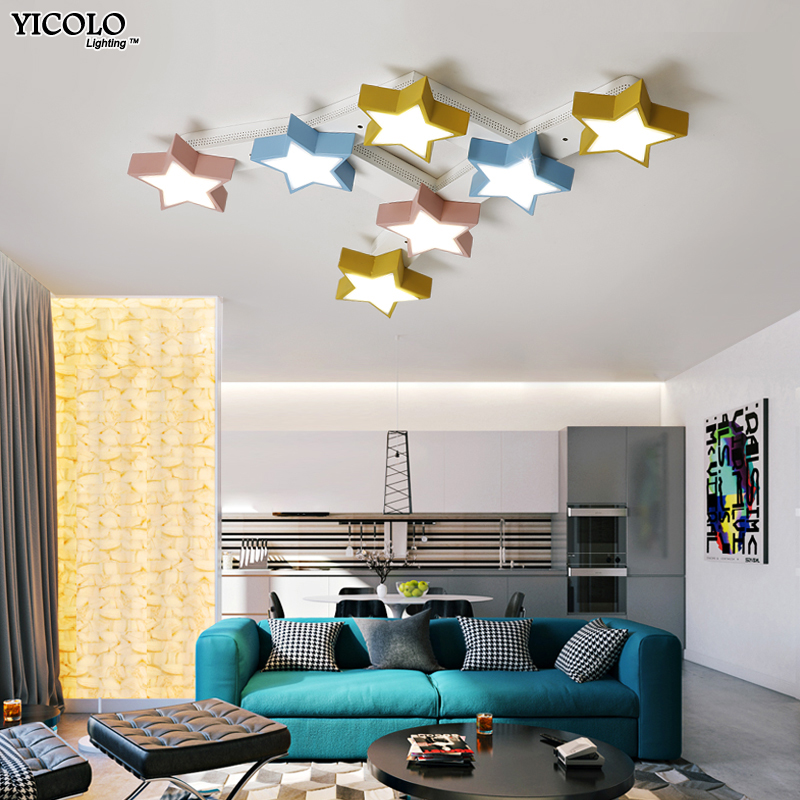 Modern Led Ceiling Lights For Living Room Bedroom Luminaria Ceiling Lamp Home Lighting Lamparas Remote Control Dimming De Techo