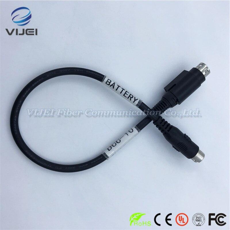 Fujikura carregador de bateria cabo adaptado para FSM-50S DCC-10 FSM-50R FSM-17S FSM-17R fibra óptica splicer da fusão