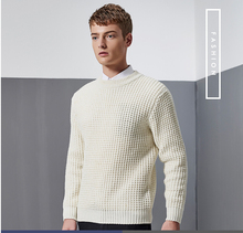 Men's sweater yellow tiger print color sweater youth fall fashion sweaters hot sale design