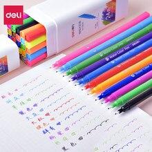 12/24 aquarelle ensemble Art marqueurs pinceau stylo pour dessiner des marqueurs de couleur Fine lavable double pointe stylo pour enfants et adultes livres de coloriage