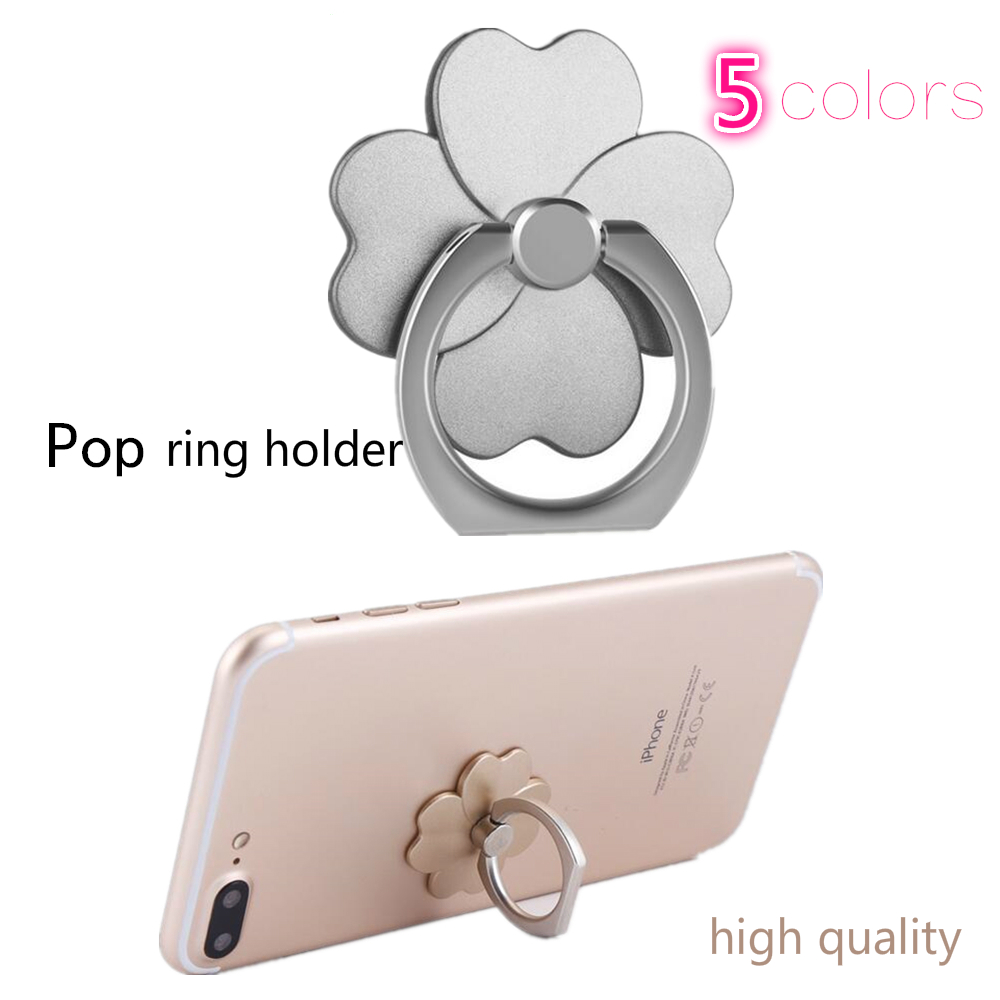 Finger Ring Socket Cell Phone Holder Matel+abs 5 Colors For Smartmobile Phone For Iphone X XR For Xiaomi Redmi Note 7 F