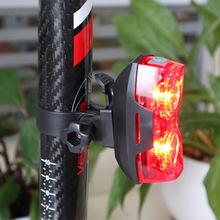 Bicycle Light MTB Road Bike Tail Rear Back Lights Waterproof for Night Cycling Safety Red LED Lamp TL2181