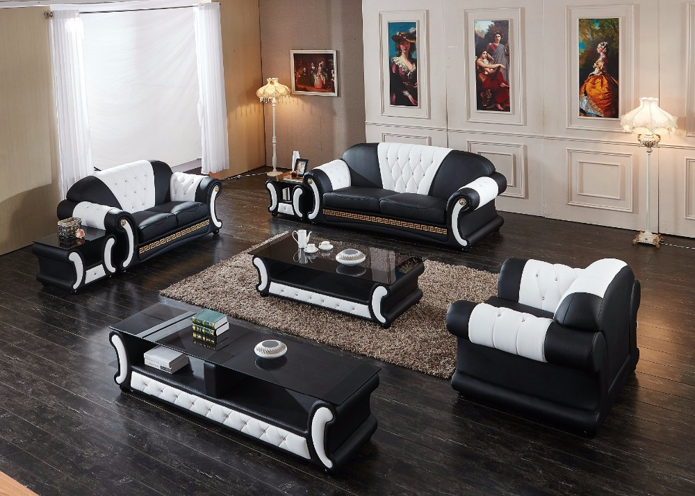 Sectional Sofa New Set Armchair Chaise 2018 Modern Design Hot Sale With Tv Unit Tea Table Living Room Furniture Sofa Group wall shelf for tea pots