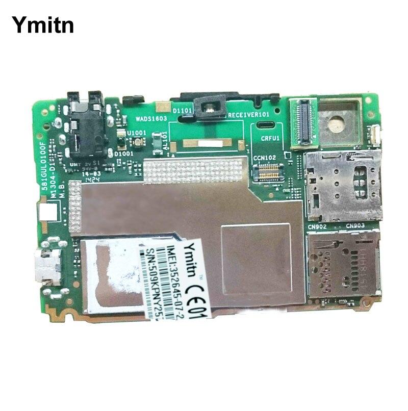 Ymitn Logement Mobile panneau Électronique carte mère Carte Mère Circuits Câble Pour Sony Xperia T3 D5103