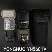 YONGNUO YN560IV YN-560IV 2.4G Inalámbrico Maestro y Grupo YN560 Speedlite de Destello para Can Nik Ptax Sny Cámaras IV