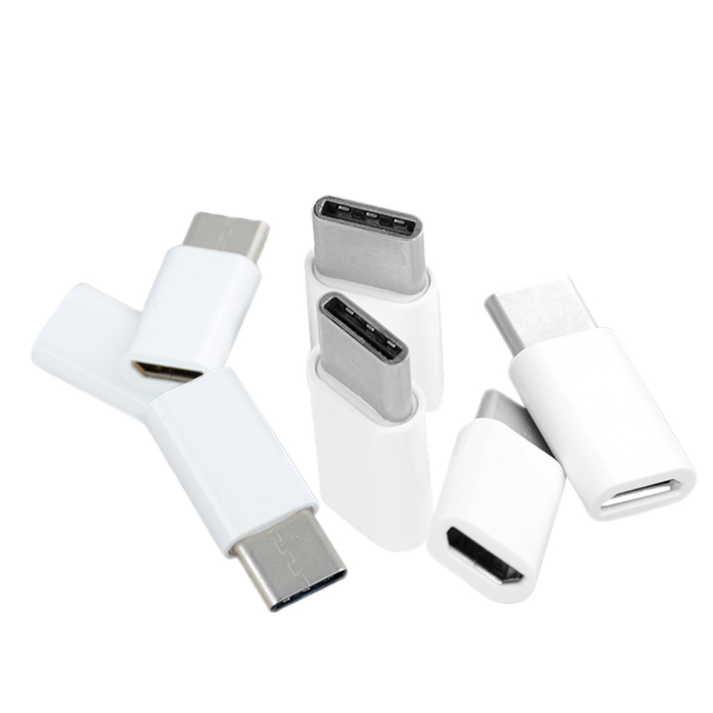 New 5 PCS High Quality USB 3.1 Type C Male to Micro USB Female Adapter Converter Connector Adapter Connector USB-C