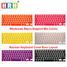 UK Russian Letters Keyboard Film protector for Macbook Air Pro Retina 13