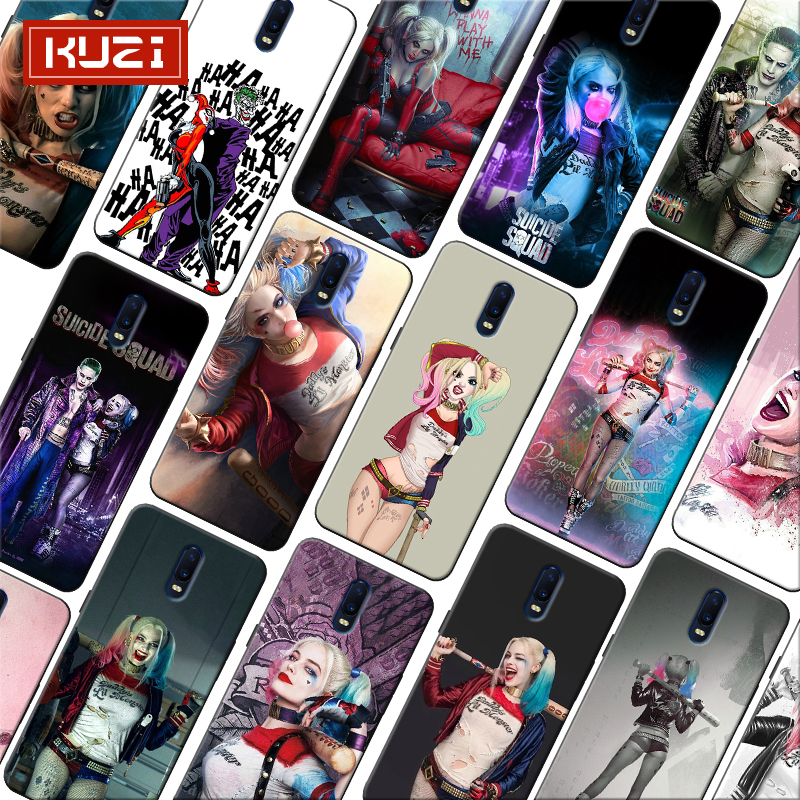 Harley Quinn Suicide Suicide Squad Joker Soft Silicone Phone Case for font b oneplus b font